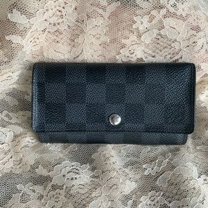 Louis Vuitton Graphite Key Pouch